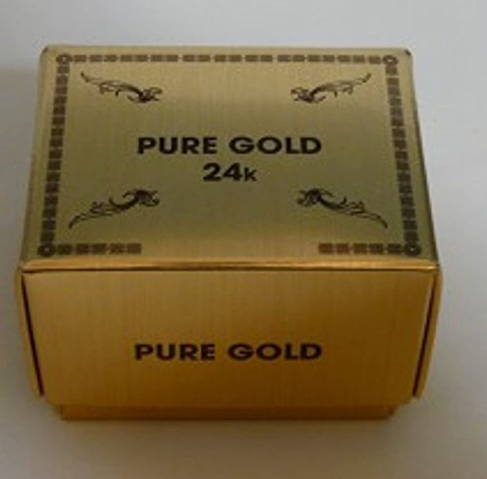 直立一生用心深い金箔エステ パック ゴールド24K 200枚