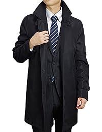 (ブルーム) BLOOM 2018 ビジネスコート ふんわりと軽い 極上タッチコート 大きいサイズ メンズ スタンドカラー ブラック ネイビー M L LL 3L 4L 5L