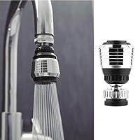 Dagly - 360回転させて水フィルター蛇口ノズルTorneira水アダプター浄水保存をタップディフューザーキッチンアクセサリーフィルター