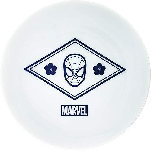 ティーズファクトリー 梅 スパイダーマン Φ10.5×H1.5cm マーベル 小皿 MV-1420009US