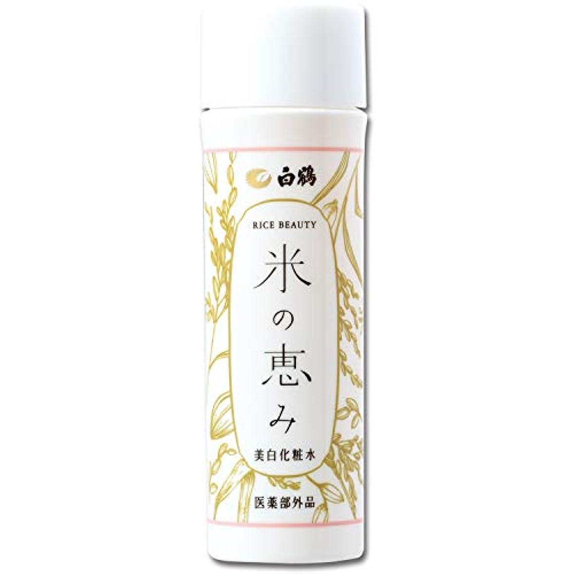 プロフェッショナル納得させる段落ライスビューティー 米の恵み 美白化粧水 150ml 医薬部外品