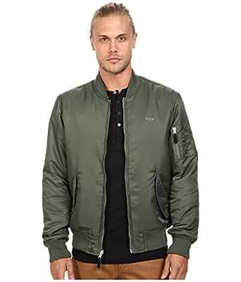 [ハフ] HUF メンズ Elite Reversible MA-1 Jacket ジャケット Olive Drab/Black 2XL [並行輸入品]