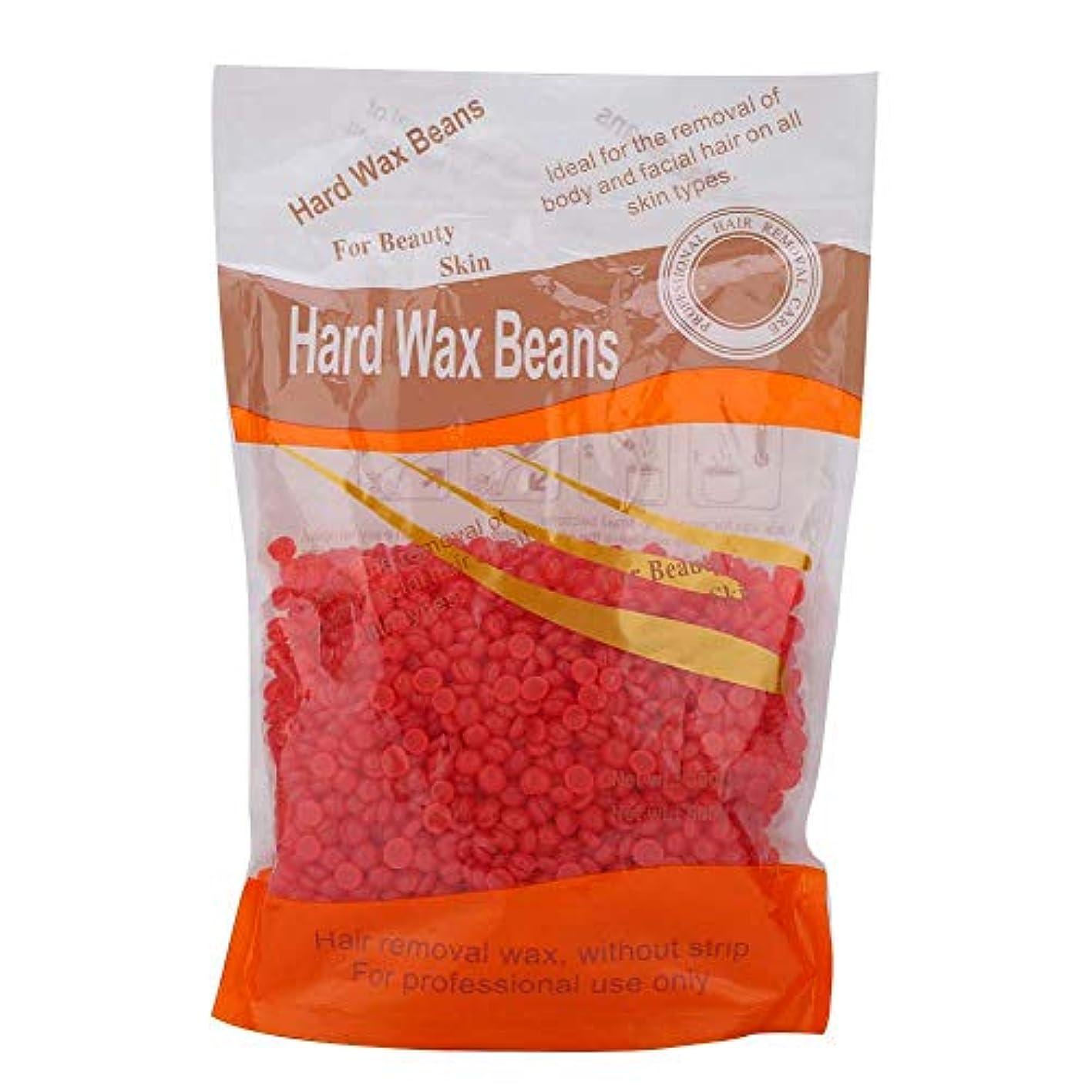 環境申請中前任者体の脱毛ケアのための300グラムハードワックス豆、ホットワックス機のためのホットフィルムワックス豆(3)