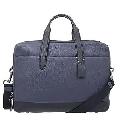 [コーチ] COACH バッグ (ビジネスバッグ) F27617 ミッドナイトネイビー レザー ビジネスバッグ メンズ レディース [アウトレット品] [ブランド] [並行輸入品]
