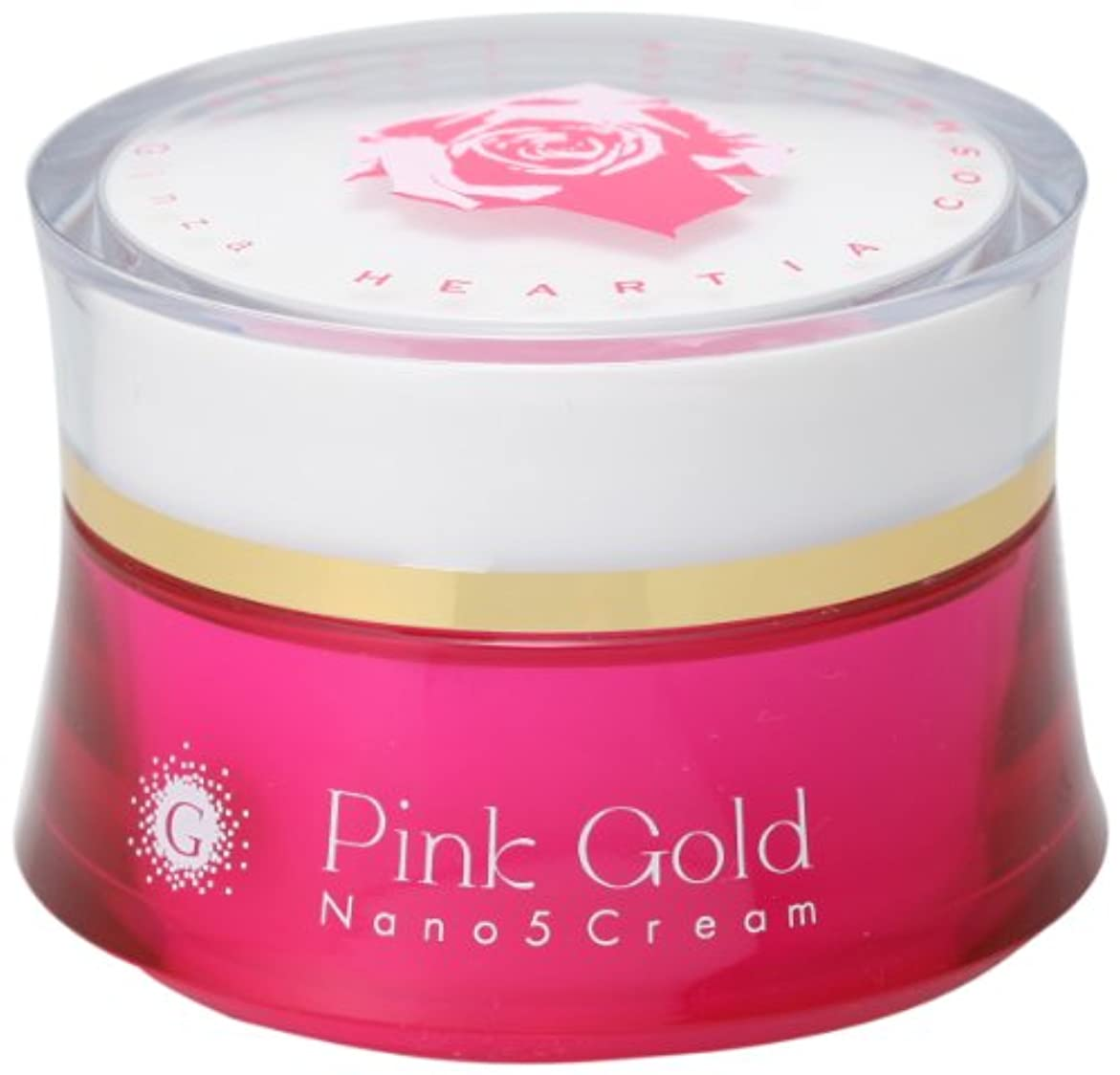 ピンクゴールド ナノ5クリーム