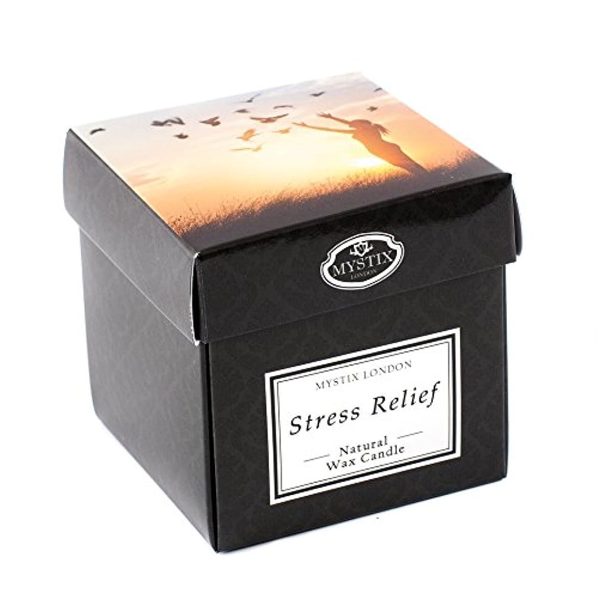 あごに対処する素晴らしい良い多くのMystix London | Stress Relief Scented Candle - Large