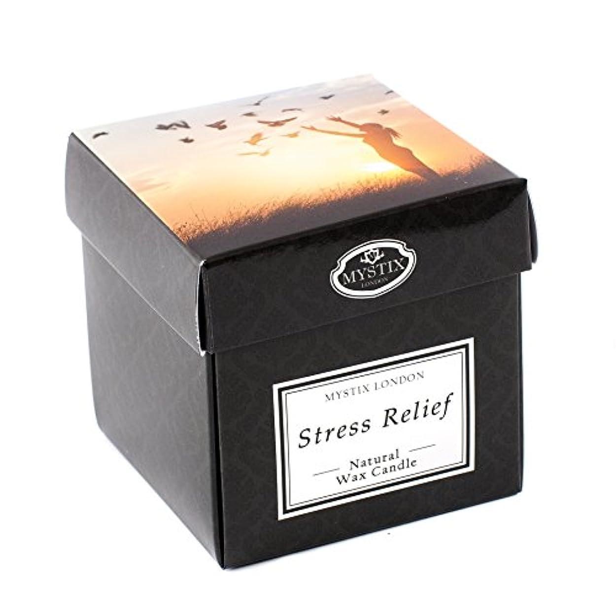 ジェスチャー憲法材料Mystix London | Stress Relief Scented Candle - Large