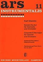 STAMITZ C. - Concierto en Mib Mayor para Clarinete y Piano (Wojciechowski)