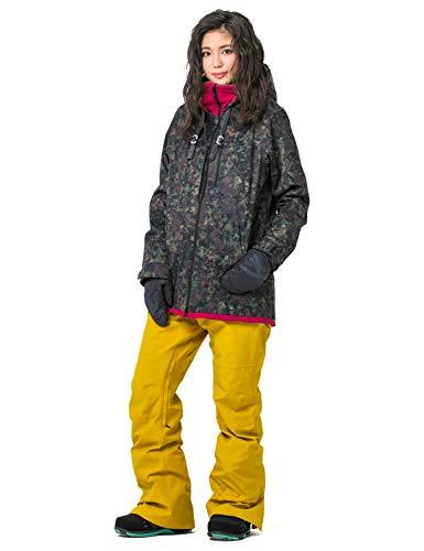 43DEGREES 全20パターン スノーボードウェア スキーウェア レディース 上下セット 14.FOJK + MUPT/Mサイズ