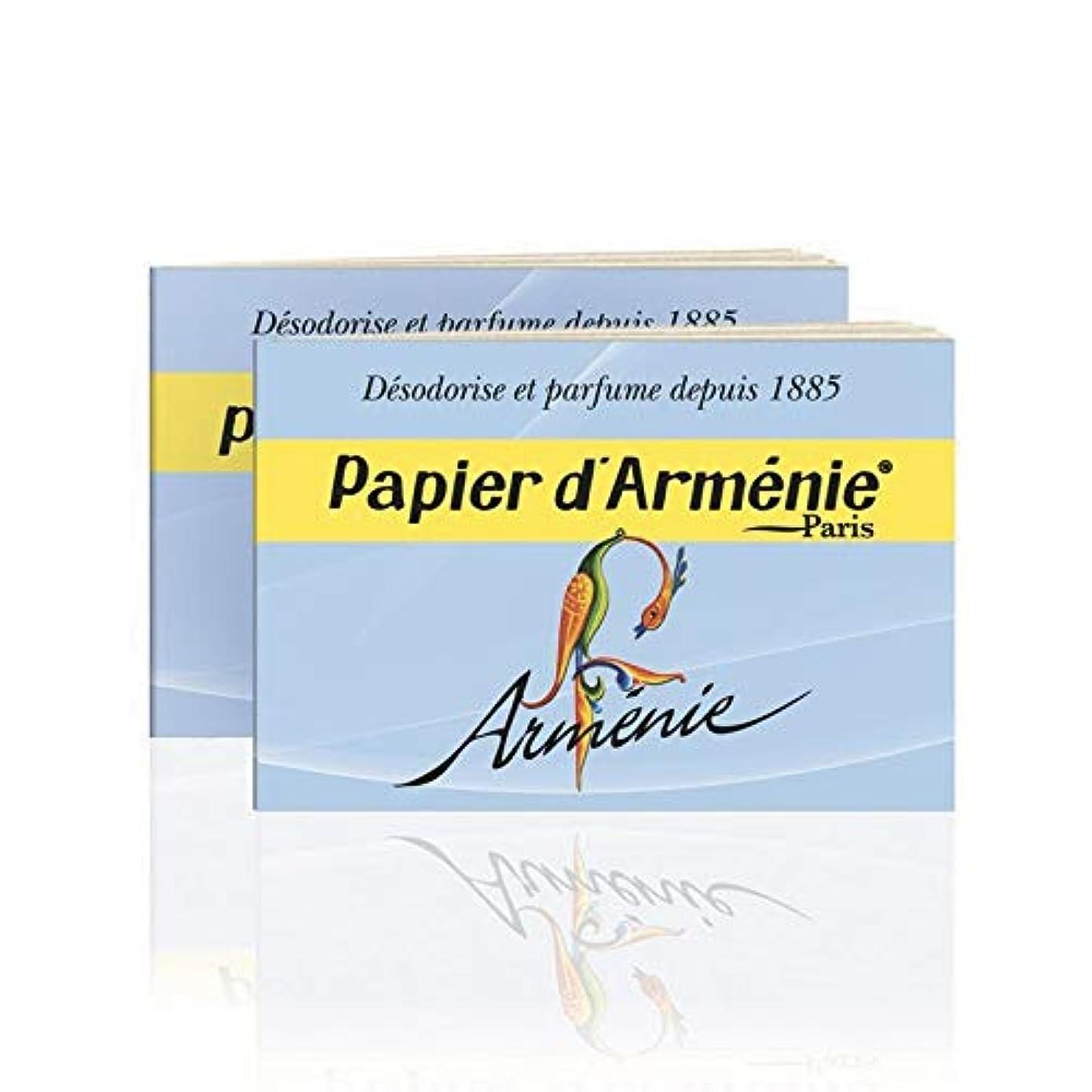 暖炉統合結婚したPapier d'Arménie パピエダルメニイ アルメニイ 紙のお香 フランス直送 2個