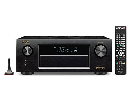RoomClip商品情報 - Denon AVR-X4100W 7.2 Network AV Receiver with Wi-Fi, Bluetooth and Dolby Atmos [並行輸入品]