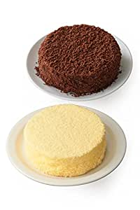 【Amazon.co.jp限定】 ルタオ (LeTAO) チーズケーキ 奇跡の口どけセット (ドゥーブルフロマージュ ショコラドゥーブル) 4号12cm 2個