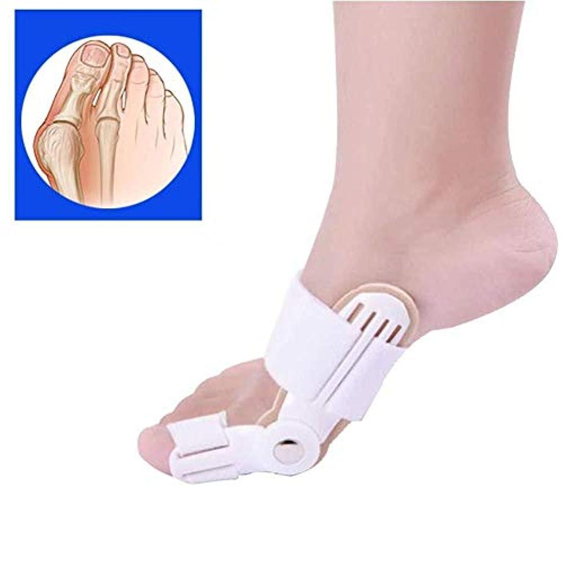 永続アパル噴水つま先の添え木、足の親指の矯正、外反母hallセパレーター、滑液包炎緩和プロテクター、つま先の関節スペーサー、矯正の痛み