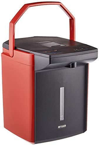 タイガー 電気ポット 2.2L バーミリオン 蒸気レス 節電 VE 保温  とく子さん PIJ-A220-DS