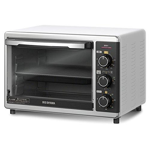 アイリスオーヤマ コンベクションオーブン スチームトースター ノンフライヤー グリル機能 15L PFC-D15A-W