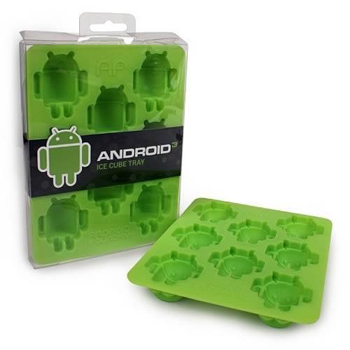 ドロイド君 アイストレイ(Android Ice Cube Tray)【氷を作ろう!】
