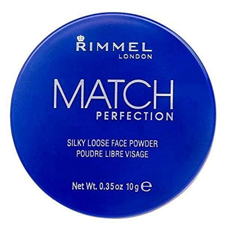 吸う菊アルミニウム[Rimmel ] リンメルマッチ完璧ルースパウダー半透明1 - Rimmel Match Perfection Loose Powder Translucent 1 [並行輸入品]