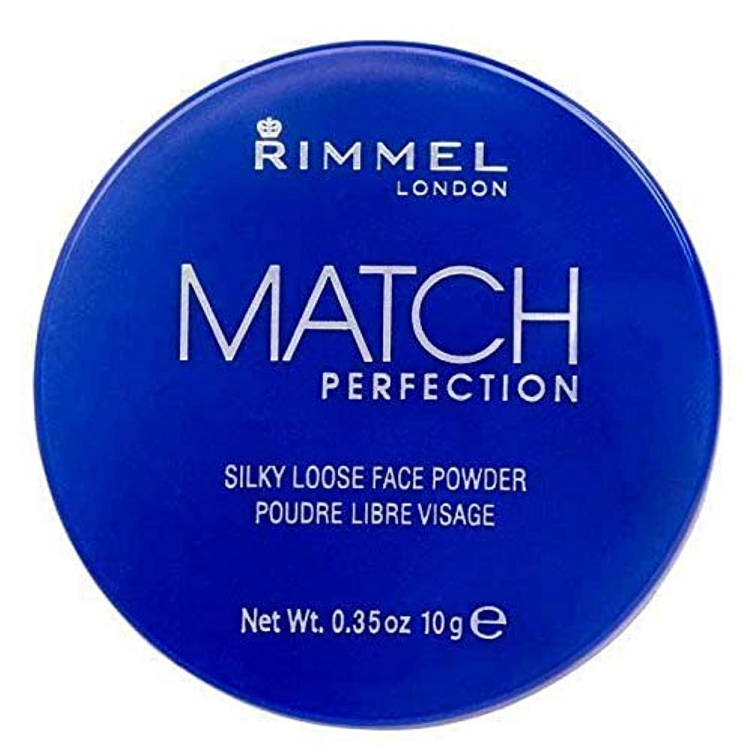 散る実験的論争の的[Rimmel ] リンメルマッチ完璧ルースパウダー半透明1 - Rimmel Match Perfection Loose Powder Translucent 1 [並行輸入品]