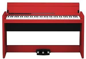 KORG 電子ピアノ LP-380-RD 88鍵 レッド