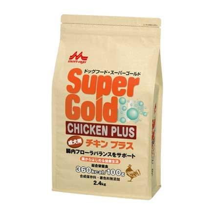 スーパーゴールド チキンプラス 成犬用2.4kg