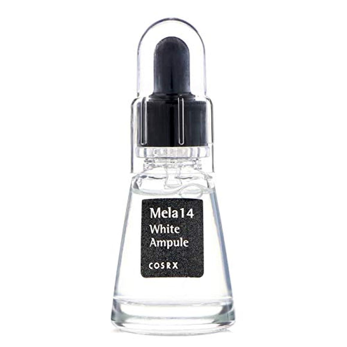 ふざけた修羅場小間(6 Pack) COSRX Mela 14 White Ampule (並行輸入品)