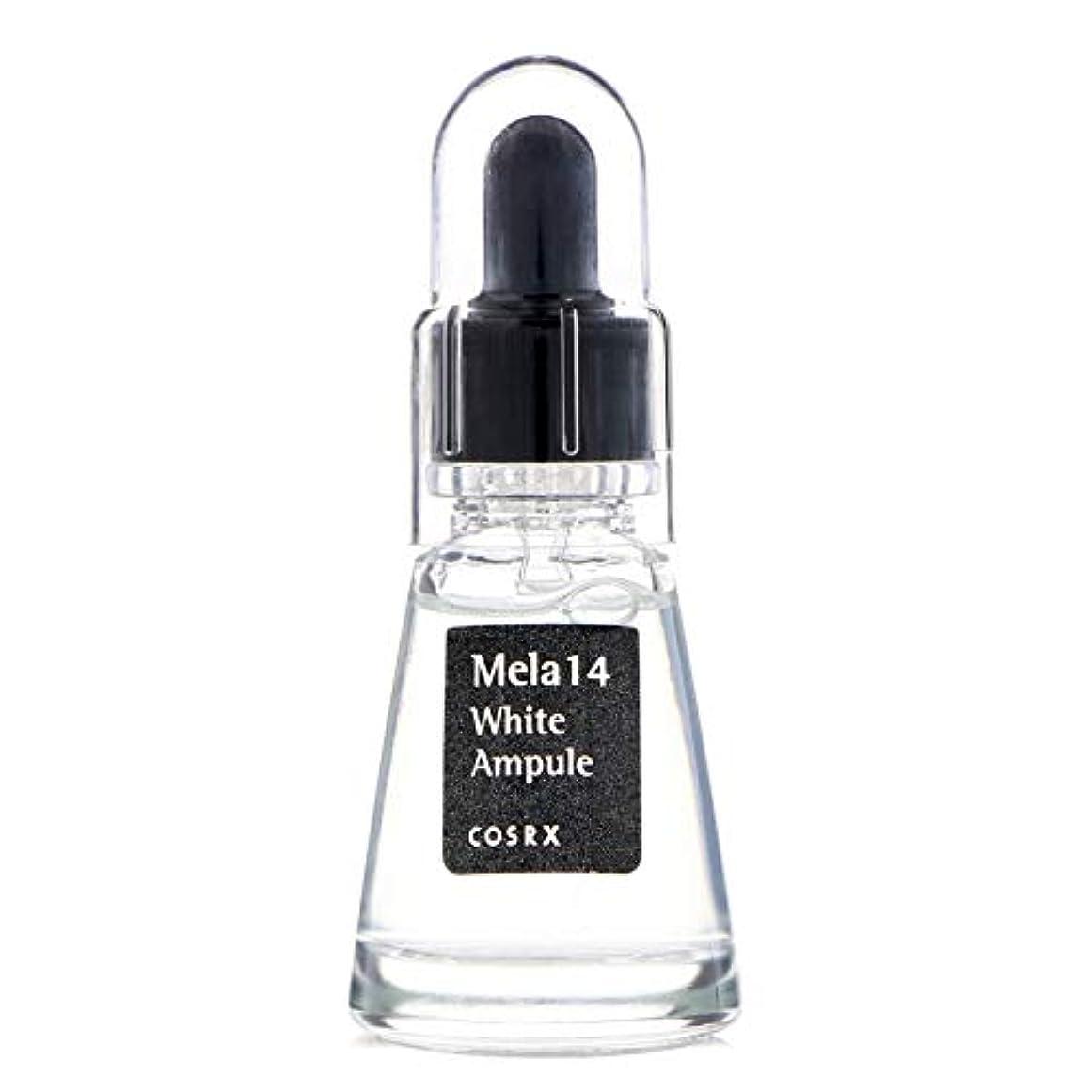 浮く過度にトランジスタ(3 Pack) COSRX Mela 14 White Ampule (並行輸入品)