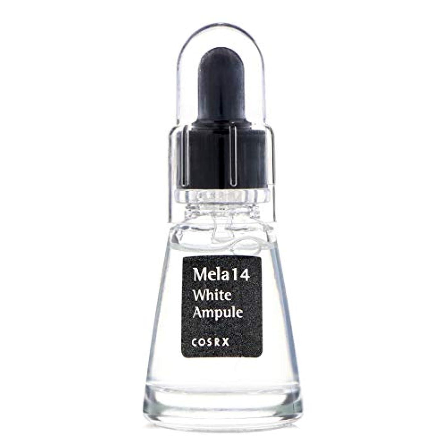 不実織機プリーツ(3 Pack) COSRX Mela 14 White Ampule (並行輸入品)