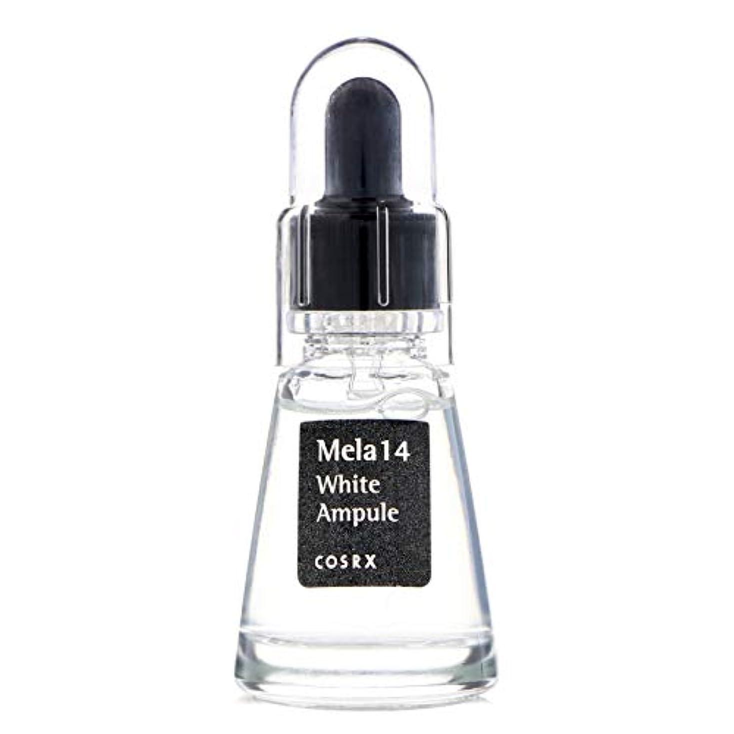 悪性の一杯専制(6 Pack) COSRX Mela 14 White Ampule (並行輸入品)