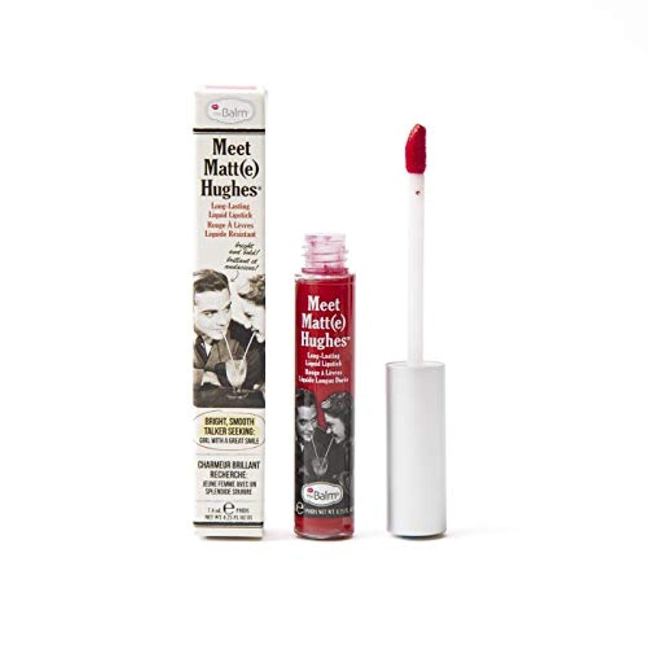 ライフルアーティファクト不確実ザバーム Meet Matte Hughes Long Lasting Liquid Lipstick - Devoted 7.4ml/0.25oz並行輸入品