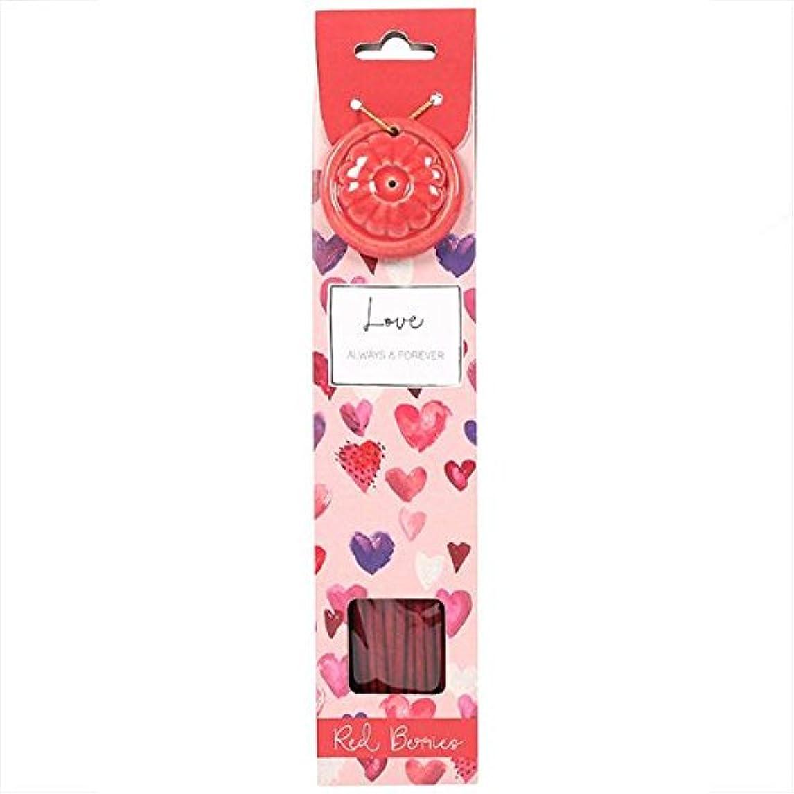 取る狂った製作Love Incense Stick Set