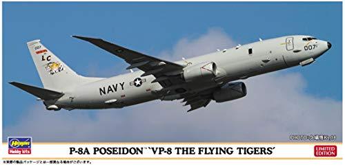 ハセガワ 1/200 アメリカ海軍 P-8A ポセイドン VP-8 ザ・フライングタイガース プラモデル 10830