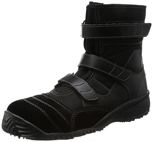 [ミドリ安全] 安全作業靴 JSAA認定 屋根上作業向け ハイカット プロスニーカー トビスニ TS125N ブラック 25 cm 3E