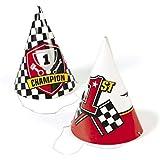 Racecar Party Hats ( 12 )