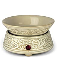 White Ceramic Electric Candle Tart Warmer by oocc