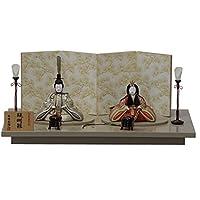 雛人形 平飾り木目込み親王 醍醐雛20号C1803 幅60cm 3mk33 一秀(木村秀櫻)