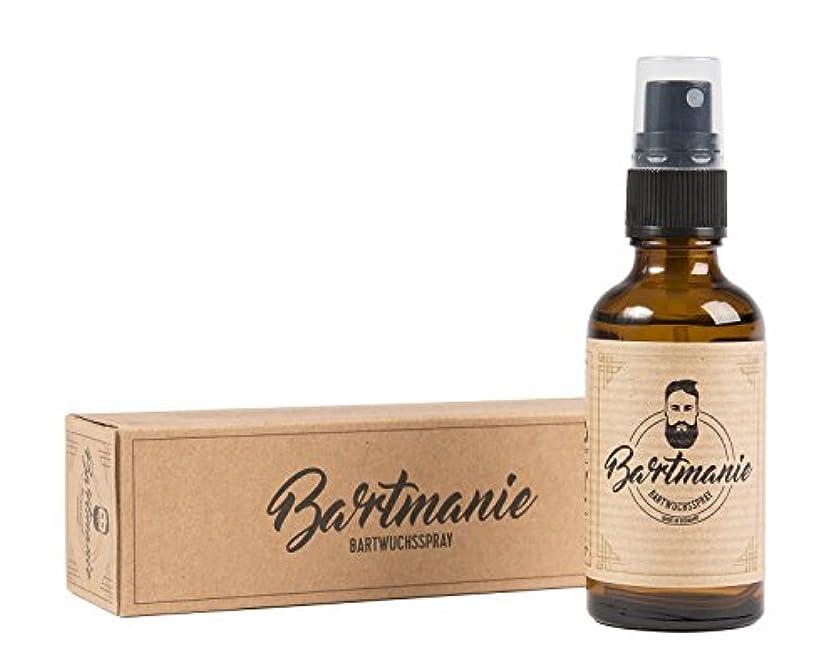 盲信市の中心部クリアBartmanie Beard Spirit for Beardグルーミングおよびブーストビアード成長、50 ml