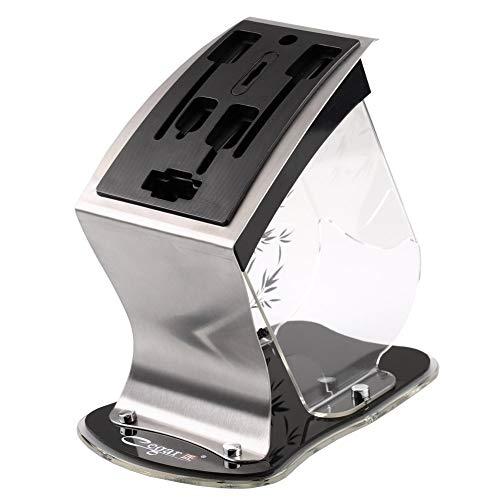 Cegar匠 多機能収納 キッチンナイフスタンド ナイフ立て 包丁スタンド アクリル 便利なキッチン用品 大容量 洗浄簡単