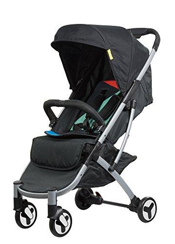 SAFETY 1ST Nook Compact Lightweight Newborn 4 Wheel Stroller, Lets Play