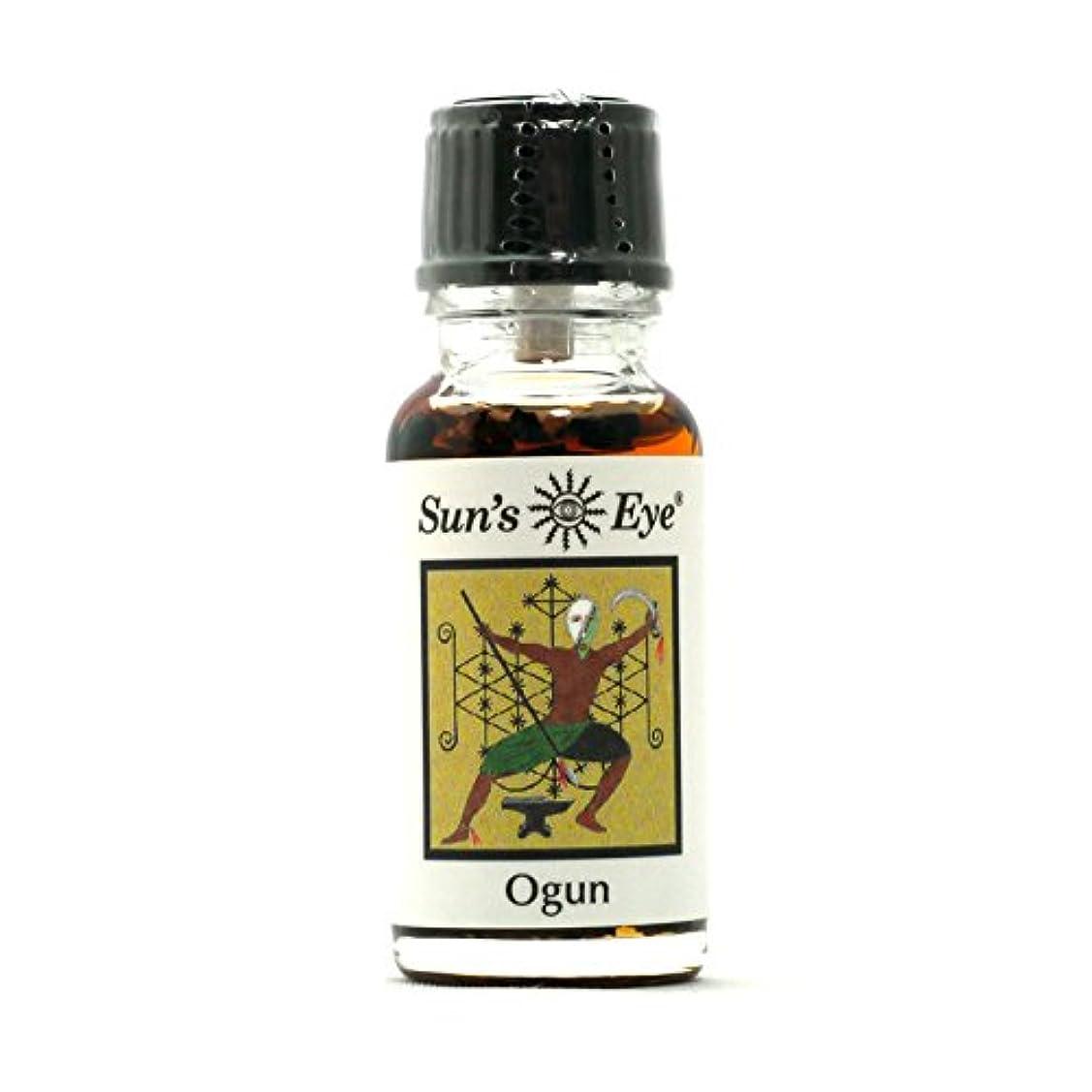 気怠い視聴者ストッキング【Sun'sEye サンズアイ】Deity Oils 神のオイル Ogun(オグン) 内部と外部の両方の障害物を除去する