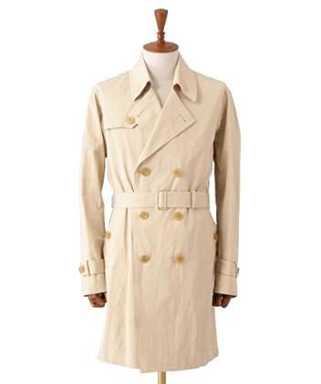 Per Bacco Trench Coat 11-19-0187-730: Beige