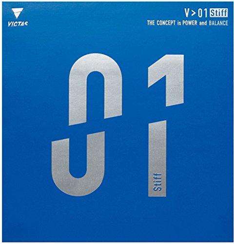 ティーエスピー(TSP) 卓球用ラバー V>01 Stiff...