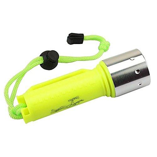 ATian 水中ライト Cree Xm-l T6 LED ダイビング フラッシュライト サブマリンランプ 水中 トーチ 防水性
