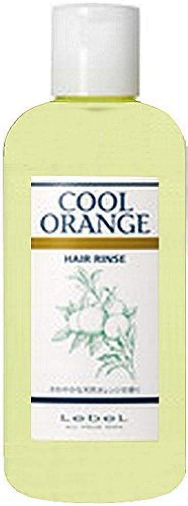 賭けドロップハムルベルコスメティックス クールオレンジ ヘアリンス 容量200ml