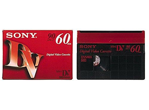 SONY ミニデジタルビデオカセット 1巻パック DVM60R3