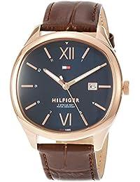 [トミーヒルフィガー]TOMMY HILFIGER 腕時計 CLARK ネイビー文字盤 クォーツ 1710366 メンズ 【並行輸入品】