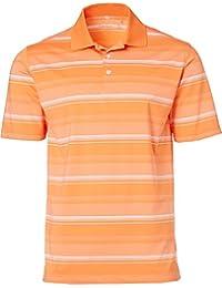 [ウォルター?ヘーゲン] メンズ シャツ Walter Hagen Men's Port Tonal Stripe Gol [並行輸入品]