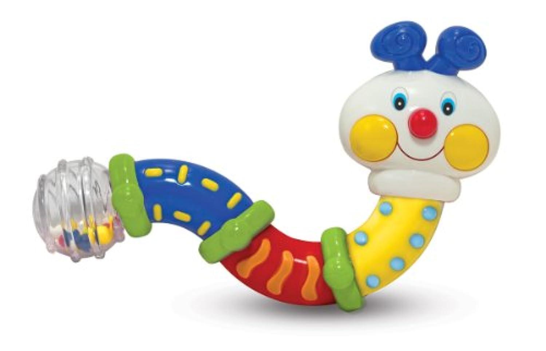Melissa & Doug's Twisting Inchworm Rattle