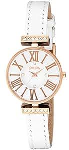 [フォリフォリ]FOLLI FOLLIE 腕時計 ミニ ダイナスティ シルバー文字盤 ステンレス(PGPVD)ケース WF13B014SSW-WH レディース 【並行輸入品】