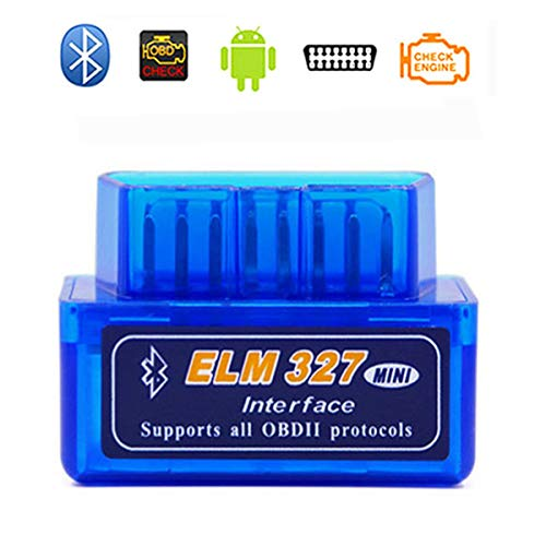 ELM327 bluetooth 故障診断機 OBD2 スキャンツール Amtake 自動車スキャナー(V1.5) OBD2診断 多車種に適用 多機能 bluetooth仕様 日本語マニュアル *iPhoneは対応できません