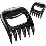 Meat Claws for BBQ, Bear Paws Shredders Easily Lift Handle, Kitchen Essentials Pros for Grilling Cooking Pulling Pork Beef Chicken, 2 Pack